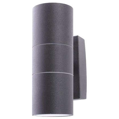 Купить Бра уличное Mistero 2хGU10х35 Вт IP44 цвет черный металлик дешевле
