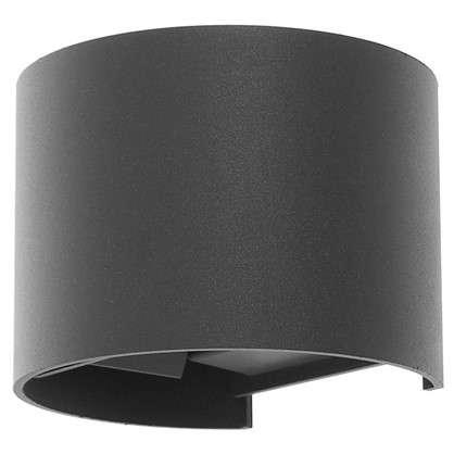 Бра уличное светодиодное RulOv 6 Вт IP54 цвет серый металлик
