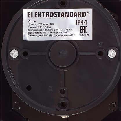 Бра уличное вниз Электростандарт Oroin 1xE27х60 Вт цвет черный IP44