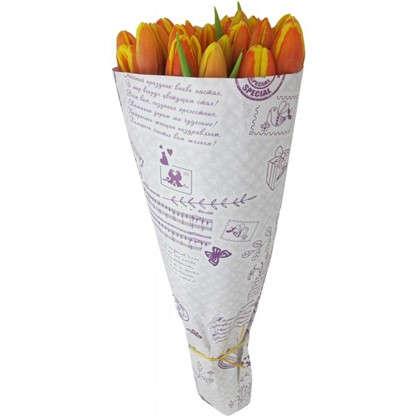 Купить Букет Тюльпаны 25 шт. дешевле