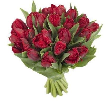 Купить Букет Тюльпаны Пионовидные 7 шт. дешевле