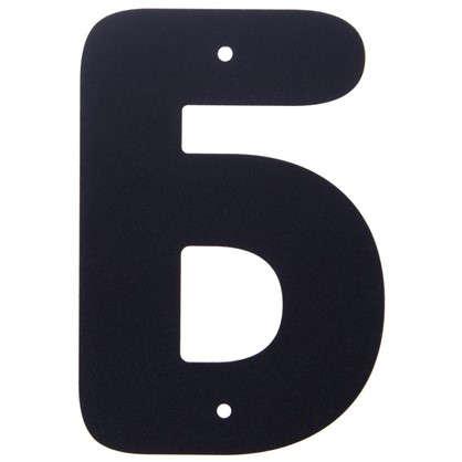 Буква Б Larvij большая цвет черный