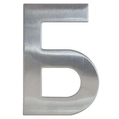 Купить Буква Б Larvij самоклеящаяся 95х62 мм нержавеющая сталь дешевле