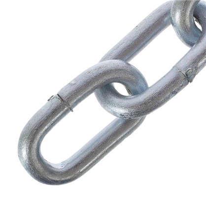 Цепь DIN 766 4 мм короткое звено 5 м сталь оцинкованная