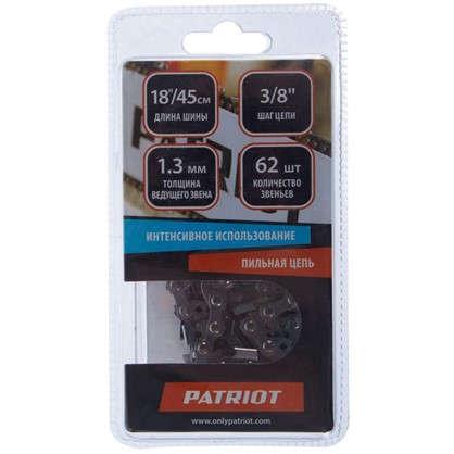 Купить Цепь пильная 62 звена шаг 3/8 дюйма паз 1.3 мм дешевле