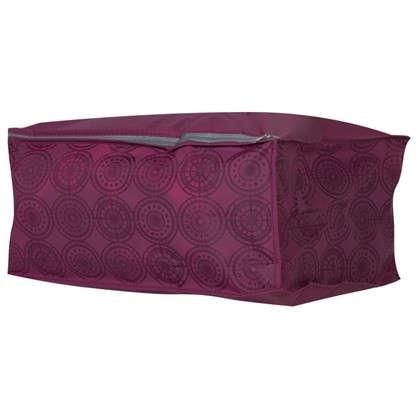 Купить Чехол для одеял 30х40х20 см цвет бордо дешевле