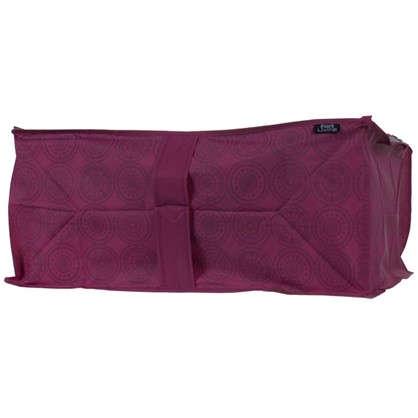 Купить Чехол для одеял 55х45х25 см цвет бордо дешевле