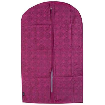 Чехол для одежды 60х100 см цвет бордо