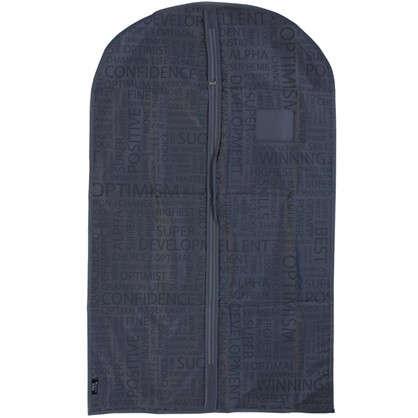 Чехол для одежды 60х100 см цвет серый