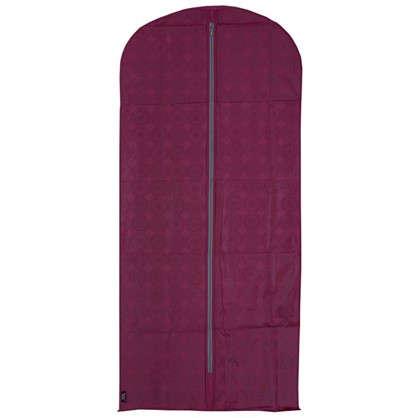 Купить Чехол для одежды 60х135 см цвет бордо дешевле