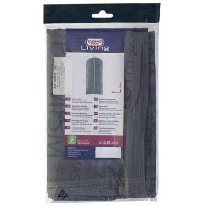 Купить Чехол для одежды 60х135 см цвет серый дешевле