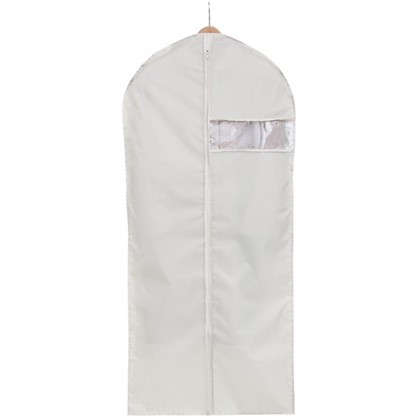 Чехол для одежды Spaceo 60х135 см цвет бежевый