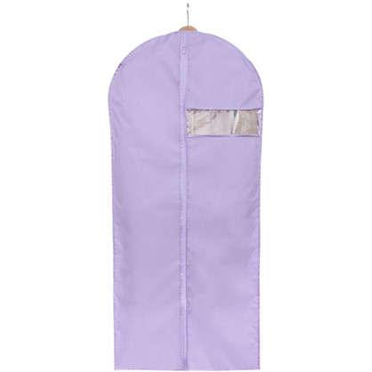 Купить Чехол для одежды Spaceo 60х135 см цвет фиолетовый дешевле