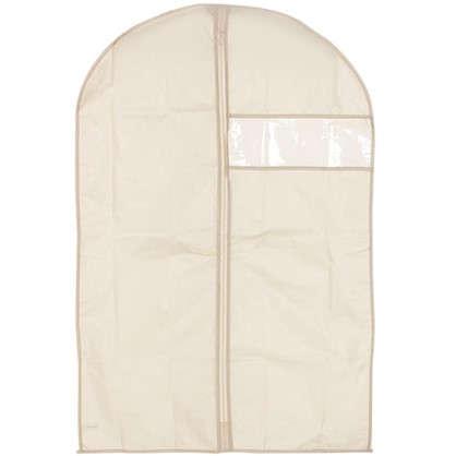 Купить Чехол для одежды Spaceo 60х90 см цвет бежевый дешевле