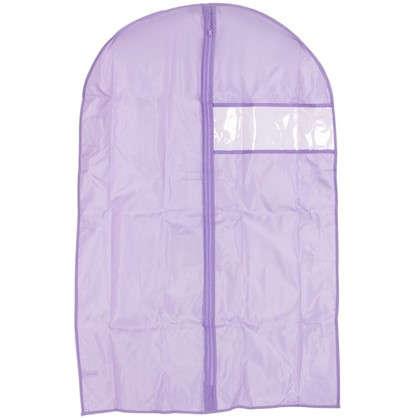 Чехол для одежды Spaceo 60х90 см цвет фиолетовый
