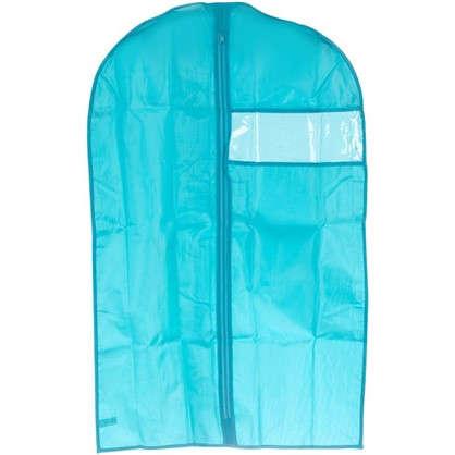 Купить Чехол для одежды Spaceo 60х90 см цвет голубой дешевле