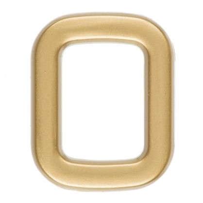 Купить Цифра 0 самоклеящаяся 40х32 мм пластик цвет матовое золото дешевле