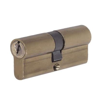 Купить Цилиндр E AL 70 35x35 мм ключ/ключ цвет бронза дешевле
