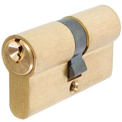 Цилиндр ключ/ключ 30х30 золото
