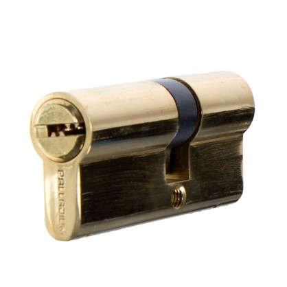 Цилиндр ключ/ключ 30х40 золото 2J07 PB