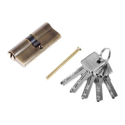 Цилиндр ключ/ключ 35х35 бронза 70 C ET AB