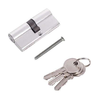 Цилиндр ключ/ключ 35х35 хром E AL 70 CP