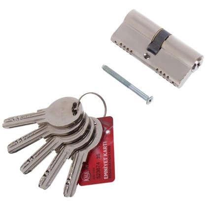 Цилиндр ключ/ключ 35х35 никель164 OBS SNE/70