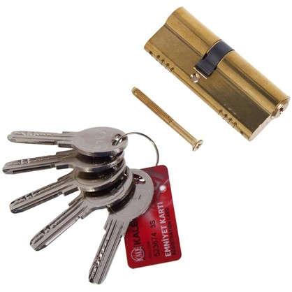 Цилиндр ключ/ключ 35х45 золото164 OBS SNE/80