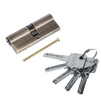 Цилиндр ключ/ключ 40х40 бронза 80 C ET AB