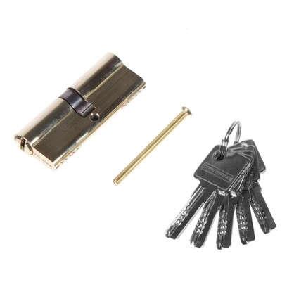 Цилиндр ключ/ключ 40х40 золото 80 C ET PB
