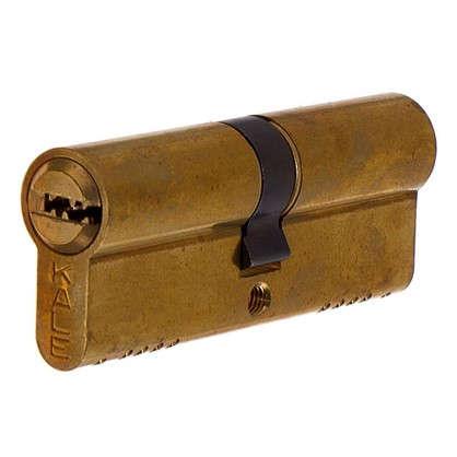 Цилиндр ключ/ключ 40х40 золото164 OBS SNE/80