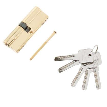 Купить Цилиндр ключ/ключ 45х45 золото 2J07 90 PB дешевле