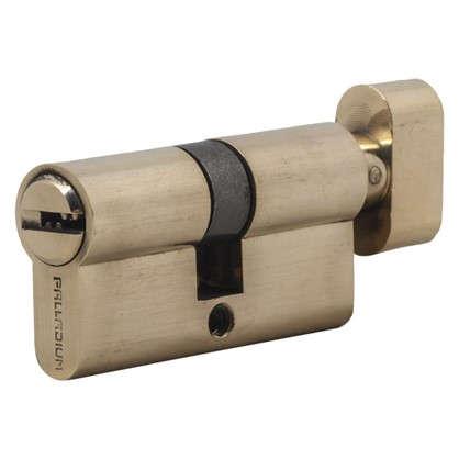 Цилиндр ключ/вертушка 30х30 золото 60 C BK PB