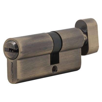 Цилиндр ключ/вертушка 30х40 бронза C BK AB