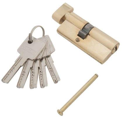 Цилиндр ключ/вертушка 30х40 золото C BK PB