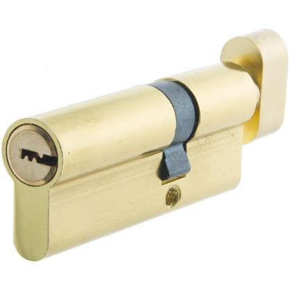 Цилиндр ключ/вертушка 30х50 золото TT-CANB3050GD