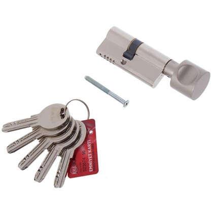 Купить Цилиндр ключ/вертушка 31х37 никель164 OBS SCE/68 дешевле