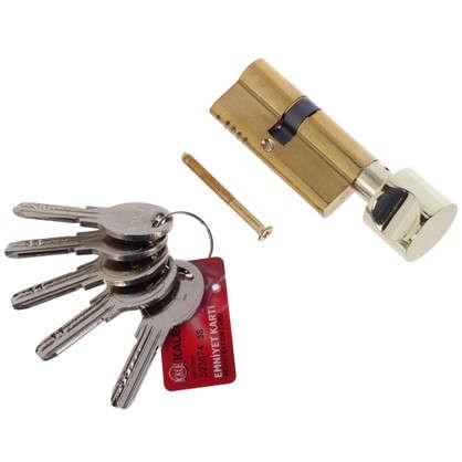 Цилиндр ключ/вертушка 31х37 золото164 OBS SCE/68
