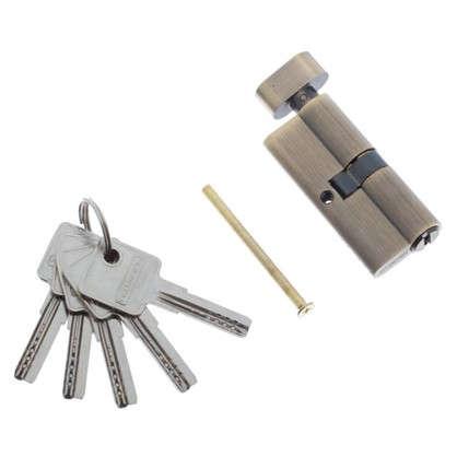 Цилиндр ключ/вертушка 35х35 бронза 70 C BK AB