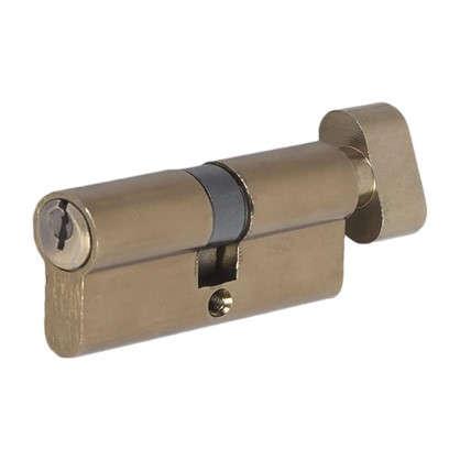 Цилиндр ключ/вертушка 35х35 бронза E AL 70 AB Т01 цена