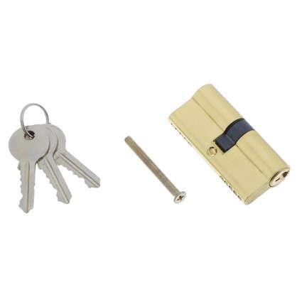 Цилиндр ключ/вертушка 35х35 хром E AL 70 CP Т01