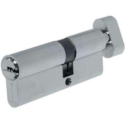 Цилиндр ключ/вертушка 35х45 хром 80 C BK CP