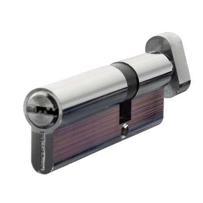 Цилиндр ключ/вертушка 35х55 хром 90 C BK CP