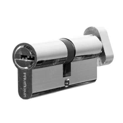 Цилиндр ключ/вертушка 40х40 бронза 80 C BK CP