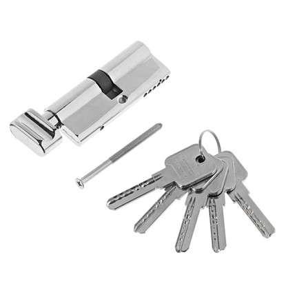 Купить Цилиндр ключ/вертушка 40х40 хром 2J07 80 CP дешевле