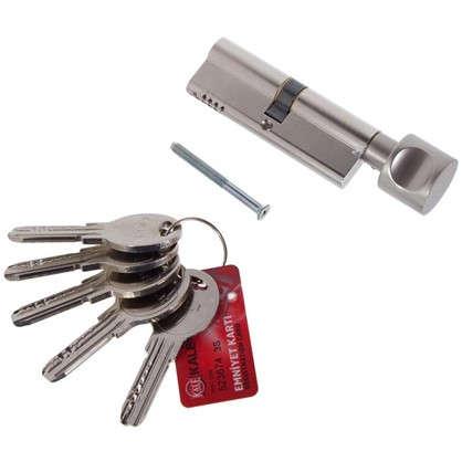 Цилиндр ключ/вертушка 45х45 никель164 OBS SCE/90