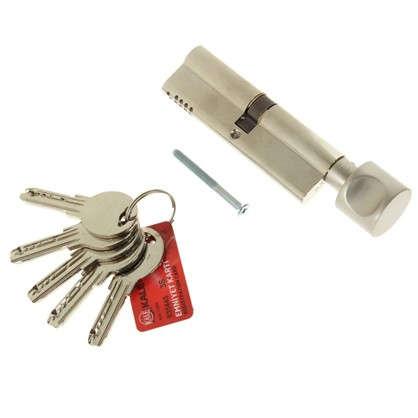 Цилиндр ключ/вертушка 50х50 никель164 OBS SCE/100