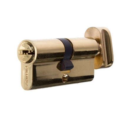 Цилиндр Palladium 2J07 70T01 35х35 мм ключ/вертушка цвет золото