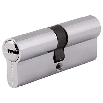 Цилиндр Palladium 2J07 80 40х40 мм ключ/ключ цвет хром