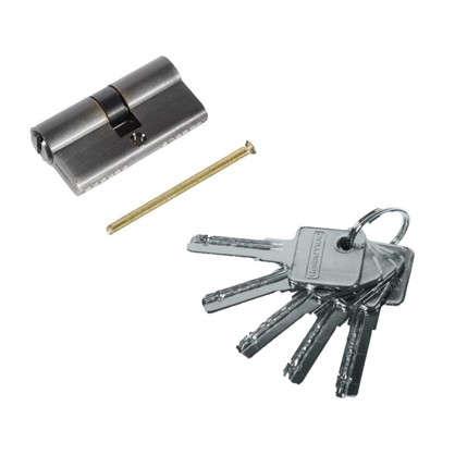 Цилиндр Palladium 60 30x30 мм ключ/ключ цвет бронза